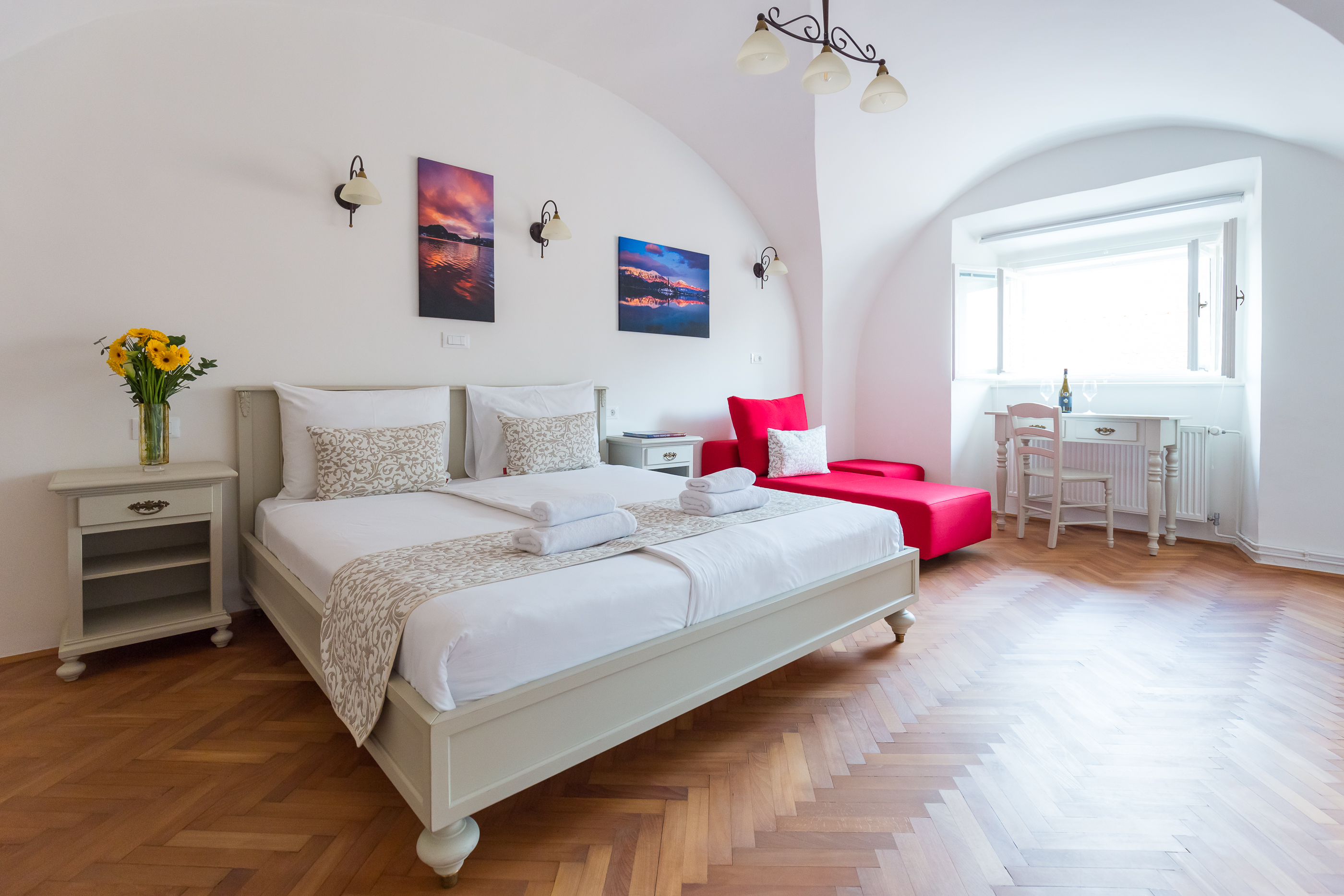 1 Bedroom And Living Room Apartment The Castle View No 3 Barbo Palace Apartments
